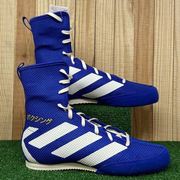 Adidas Boxing Box Hog 3 Shoes Blue White Japan Fla